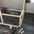Kantholz Ständerbauweise