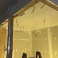 Decke (OSB) mit E-Harz versiegelt